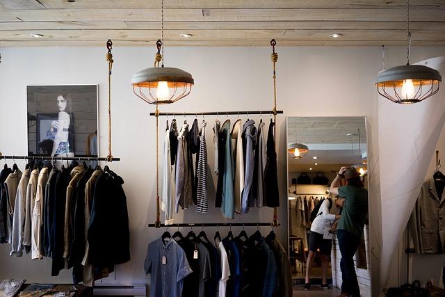Regal sklepowy odzieżowy NUT 09